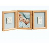 Baby Art Double Print Frame Honey