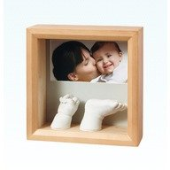 Baby Art Photo Sculpture Frame Honey