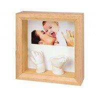 Baby Art Photo Sculpture Frame Natural
