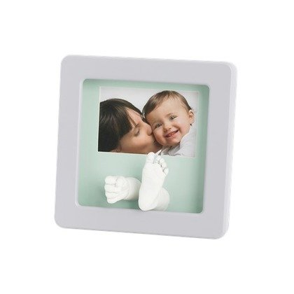 Baby Art Photo Sculpture Frame Pastel