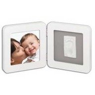 Baby Art Print Frame White & Grey