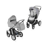 Baby Design Dotty 07 grey 2015 - Carucior 2 in 1