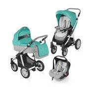 Baby Design Carucior 3 in 1 Dotty 05 turquoise 2015