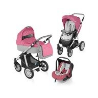 Baby Design Carucior 3 in 1 Dotty 08 pink 2015