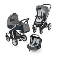 Baby Design Carucior 3 in 1 Dotty 10 graphite 2015