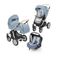 Baby Design Carucior 3 in 1 Dotty Denim 03 blue 2015