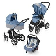 Baby Design Carucior multifunctional 3 in 1 Lupo 03 blue 2015