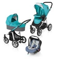 Baby Design Carucior multifunctional 3 in 1 Lupo 05 turquoise 2015