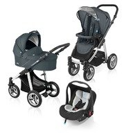 Baby Design Carucior multifunctional 3 in 1 Lupo 17 grafit 2015