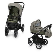 Baby Design - Carucior Multifunctional 2in1 04 Husky winter pack 2018 Olive