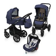 Baby Design - Carucior multifunctional 3 in 1 Lupo Comfort 03 , Navy 2018