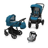 Baby Design - Carucior multifunctional 3 in 1 Lupo Comfort 05 , Turqouise 2018