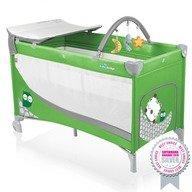 Baby Design Patut pliabil cu 2 nivele Dream 04 green 2015