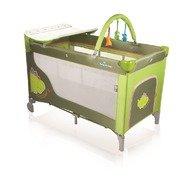 Baby Design Patut pliabil cu 2 nivele  Dream 04 green dino 2012