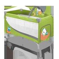 Baby Design Patut pliabil cu 2 nivele Dream Base 04 green