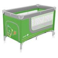 Baby Design Holiday 04 green - patut pliabil cu 2 nivele