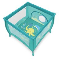 Baby Design - Tarc de joaca cu inele ajutatoare Play UP 05 2018 Turqouise