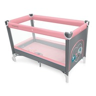 Baby Design Simple 08 pink 2016 - Patut pliabil