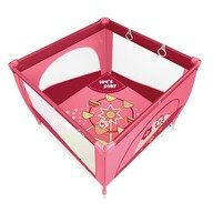 Baby Design Play UP 08 pink 2015 - Tarc de joaca cu inele ajutatoare