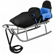 Baby Dreams - Sanie Rider cu sac de iarna Speedy Albastru