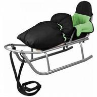 Baby Dreams - Sanie Rider cu sac de iarna Speedy Verde