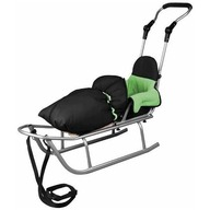 Baby Dreams - Sanie Rider Plus cu sac de iarna Speedy Verde