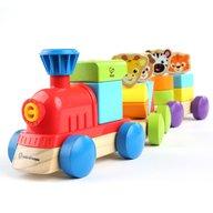 Bright Starts - Jucarie de lemn Baby Einstein-Hape, Discovery Train