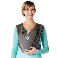 Baby K'tan - Sistem purtare Baby Carrier Breeze, Charcoal, Marimea M