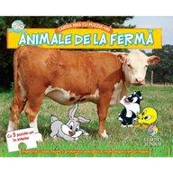Corint - Baby looney tunes Cartea mea cu puzzle-uri animale de la ferma