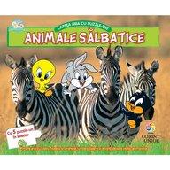 Corint - Baby looney tunes Cartea mea cu puzzle-uri animale salbatice
