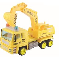 Baby Mix - Camion cu excavator rotativ Super Power
