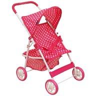 Baby Mix Carucior pentru papusi Pink Spotted