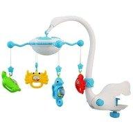 Baby Mix Carusel muzical cu proiectie  Aqua Magic Albastru