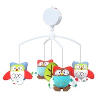 Baby Mix Carusel muzical Owls