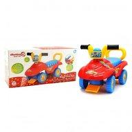 Baby Mix Masinuta pentru copii de impins Globo Vitamina G interactiva Buggy multicolora cu portbagaj