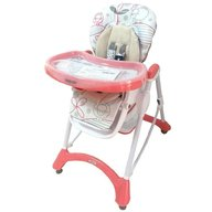 Baby Mix - Scaun de masa Hungry Sheep, Pink