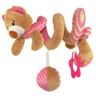 Baby Mix Spirala cu jucarii Pink Bear
