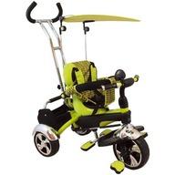 Baby Mix Tricicleta multifunctionala Happy Days - verde