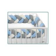SeviBebe - Suport de dormit Baby Nest , 3 in 1, 75x55 cm, Albastru