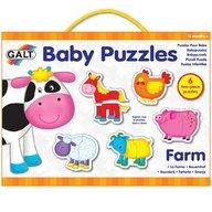 Galt - Baby puzzle Ferma 2 piese