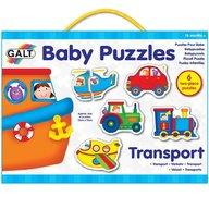 Galt - Baby puzzles Set de 6 puzzle-uri Transport 2 piese