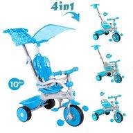 Baby Trike - Tricicleta Baby Trike 4 in 1 Deluxe Aqua