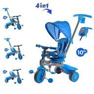 Baby Trike - Tricicleta Baby Trike 4 in 1 Hippo Blue