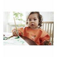 BabyBjorn - Bavetica cu maneca lunga, Orange