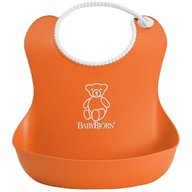 BabyBjorn - Bavetica moale Soft Bib, Orange