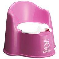 BabyBjorn - Olita cu protectie spate Potty Chair, Grey Pink