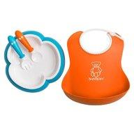 BabyBjorn - Set pentru alimentatie Baby Feeding Set, Orange