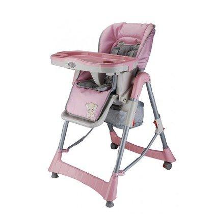BabyGo Scaun de masa Tower Maxi Pink