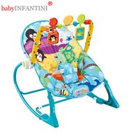 babyINFANTINI - Balansoar 2 in 1 Bear