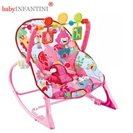 babyInfantini - Balansoar 2 in 1 Lion Pink